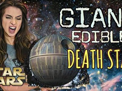 STAR WARS | MAKING A GIANT EDIBLE DEATH STAR!