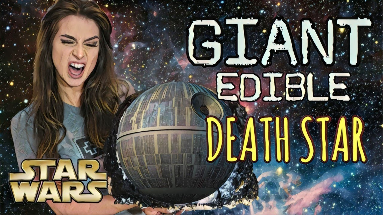 STAR WARS, MAKING A GIANT EDIBLE DEATH STAR!