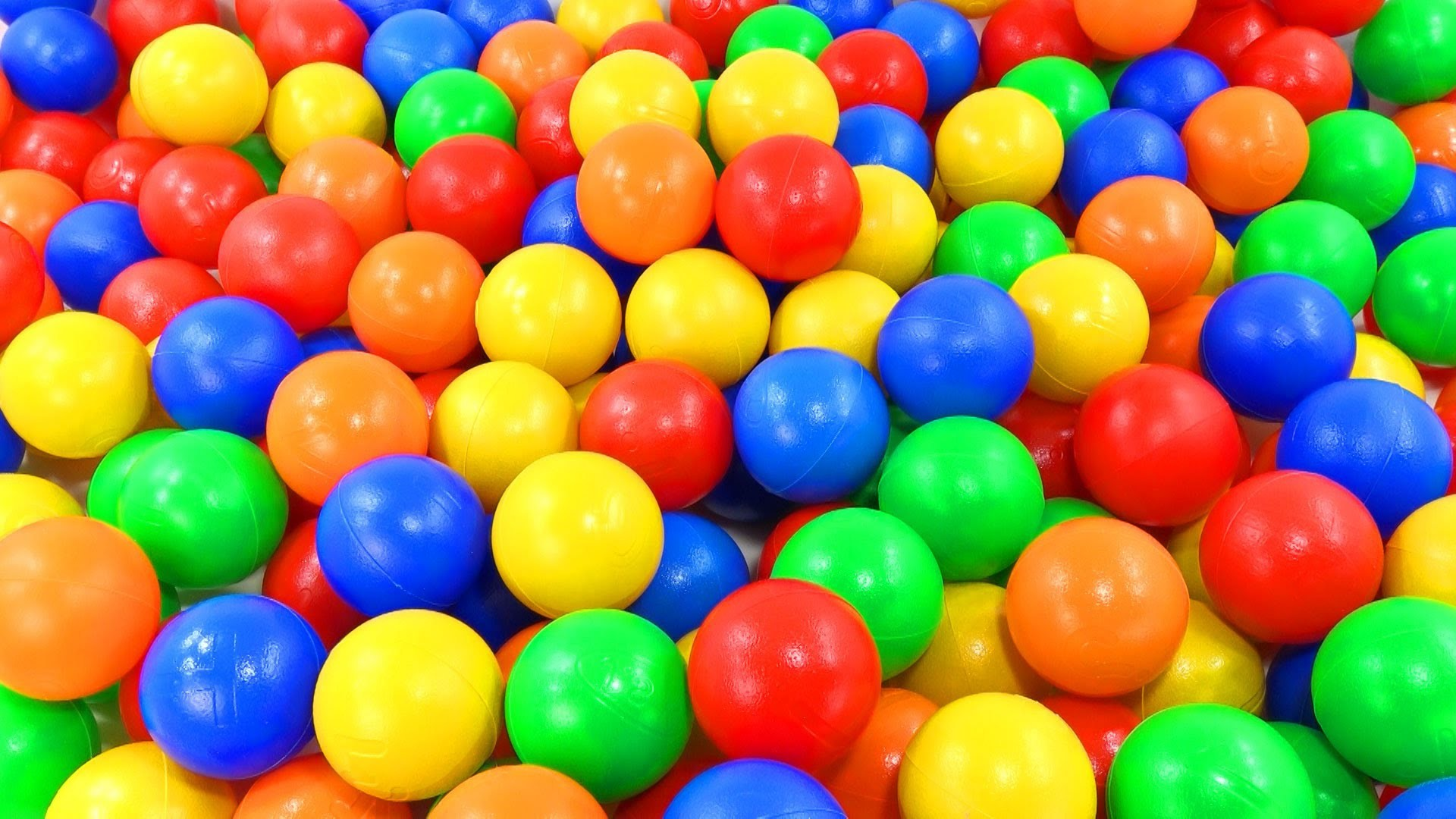 """""""THE BALL PIT SHOW"""" Learn Colours and Numbers Counting for Children Toddler Baby Kid Education Video"""