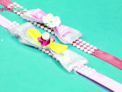 Very Easy and Quick Rakhi Making Idea to Try Today