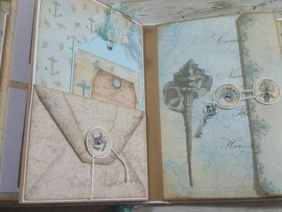 #5#   ~Nautical ~ Vectoria Designs ( DT ) Mini Album