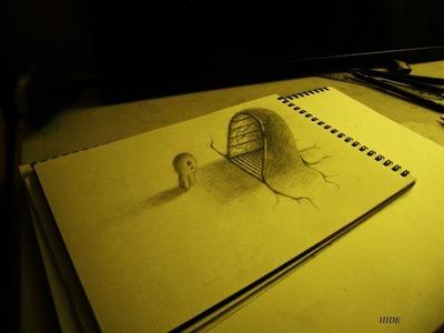 Amazing 3D Art on sketchbook【4】