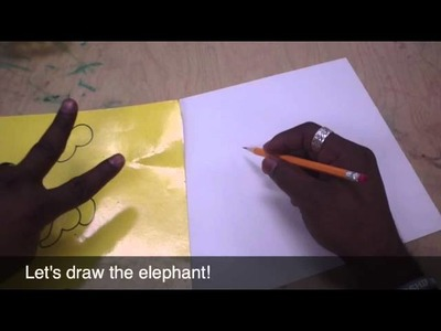 Art Lessons for Kids: Drawing Animals Using Simple Shapes