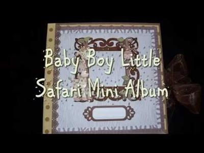 Baby Boy Little Safari Mini Album