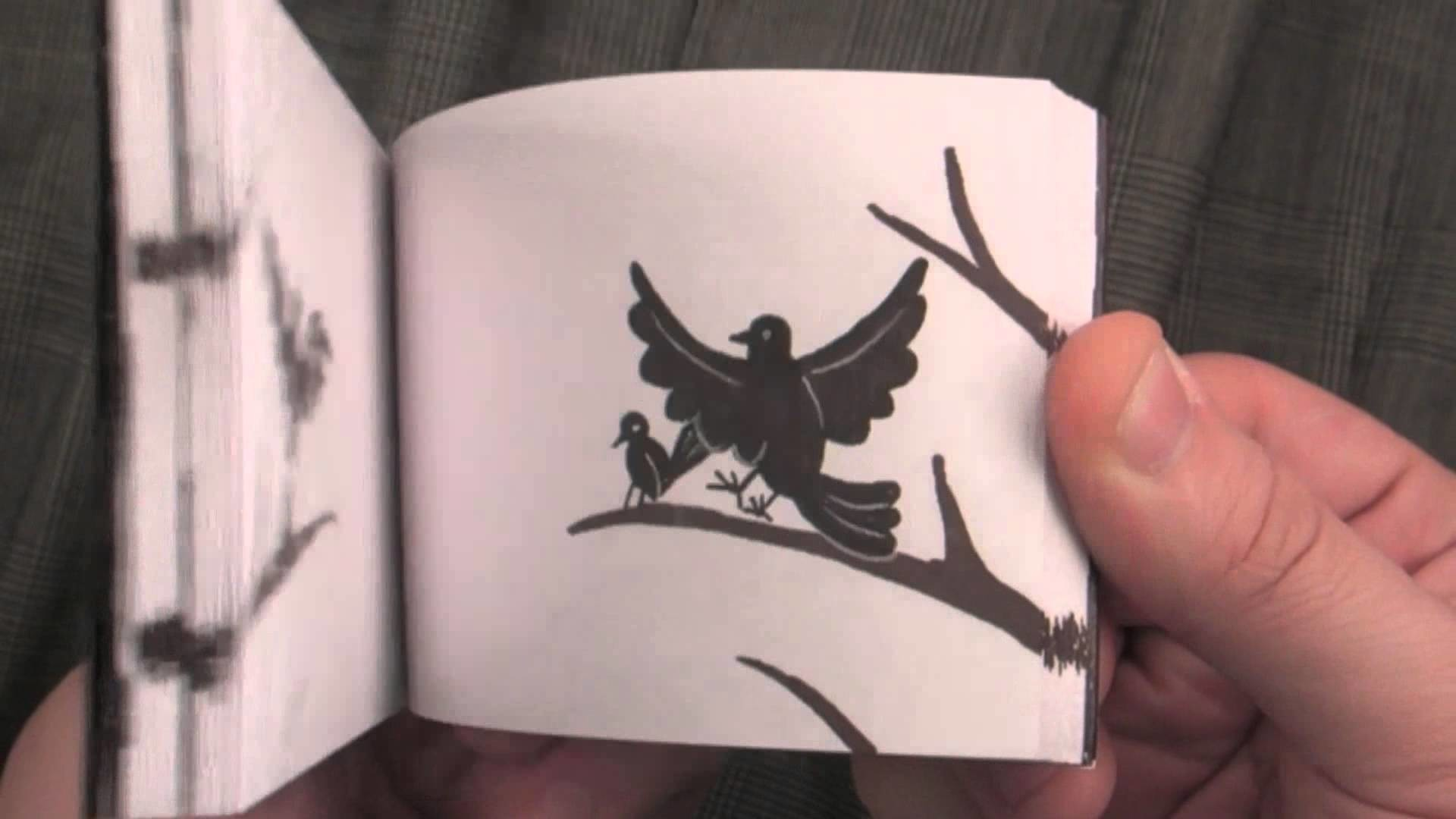Black Bird Custom Flipbook