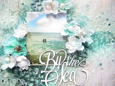 Blue Fern Studios Layout with Tranquility collection