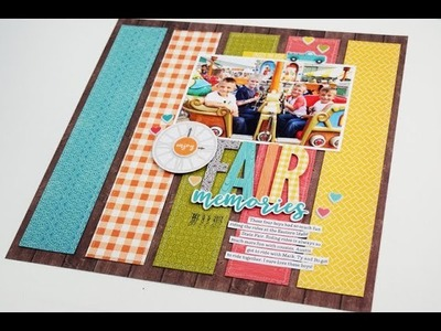 Creative Scrapbooking with Sketches by Becki Adams