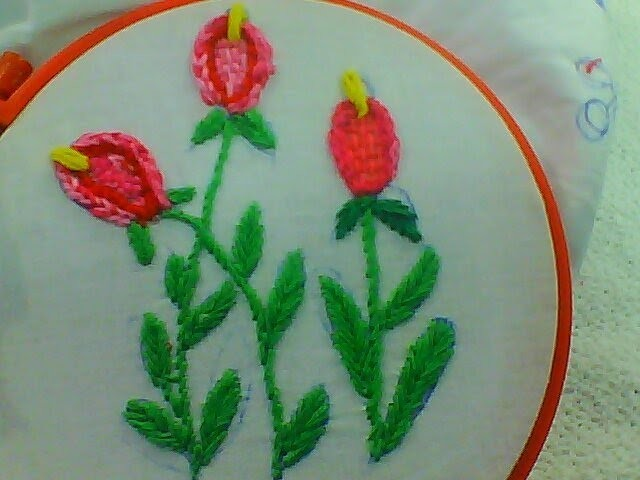 Hand Embroidery Design For Dresses Curthas Frocks Bed Sheets And