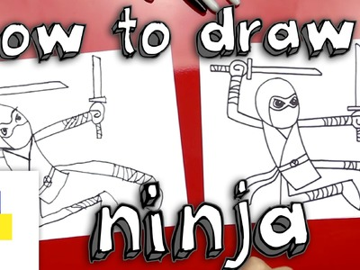 How To Draw A Ninja Cartoon