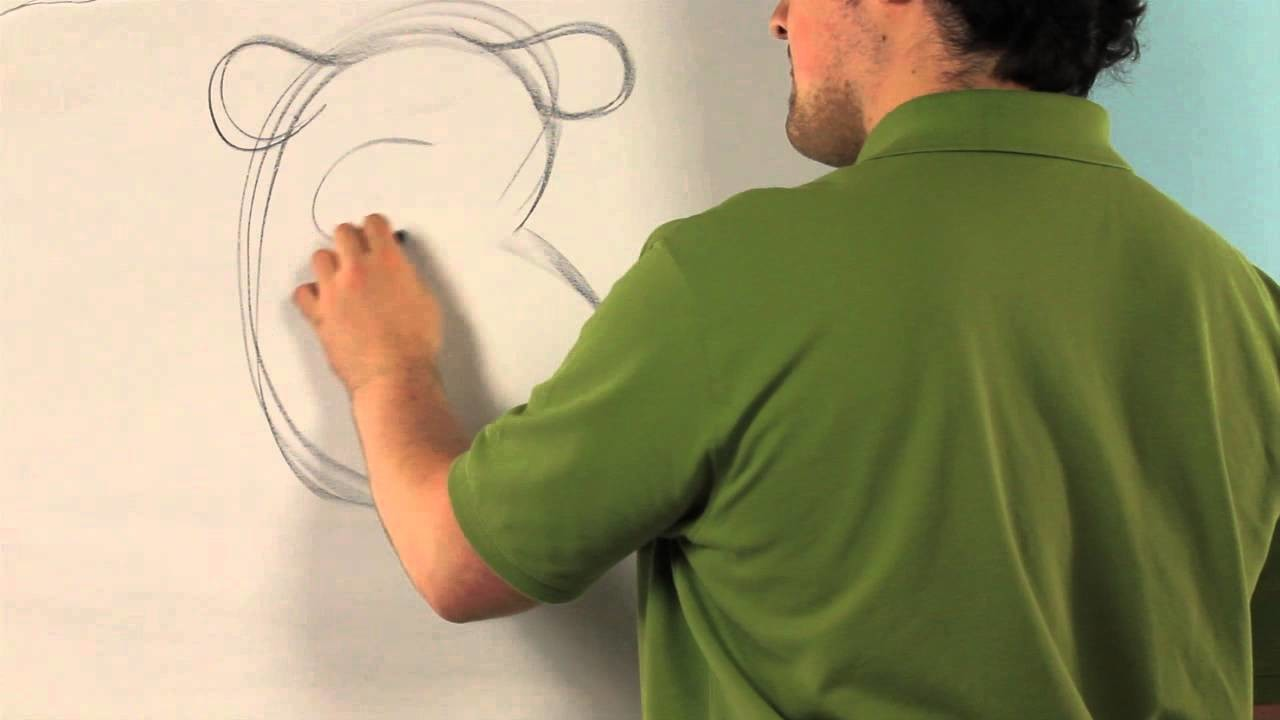 How to Draw a Polar Bear for Preschool Children : Drawing Tips
