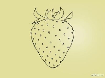 How To Draw a Strawberry - Step by Step Drawing Ideas