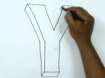 How to Draw Y in 3D