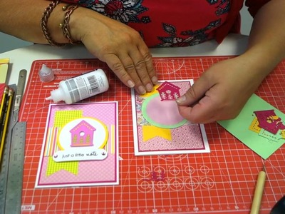HOW TO MAKE CARDS WITH INTRICATE DIE CUTS