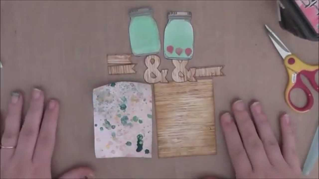 How to.  Stamped embellishments