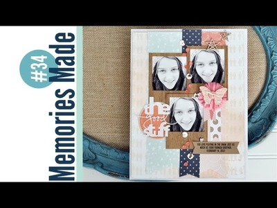 Memories Made #34 Scrapbooking Process: The Good Stuff