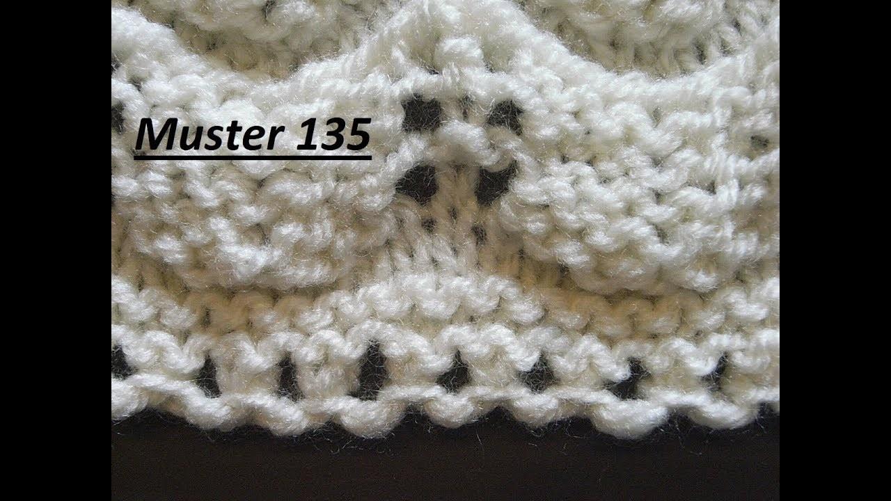 Muster 135* Maschen anschlagen mit Ajour*Tutorial Handarbeit
