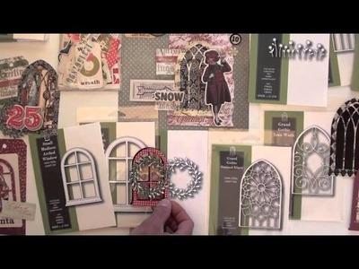 New Memory Box Poppy Stamp dies and samples