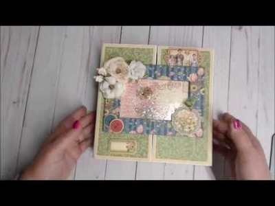 Penny's Paper Doll Pop up album pages walk thru