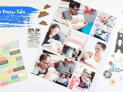 Project Life Process Video ~ Citrus Twist Kits September + + + INKIE QUILL