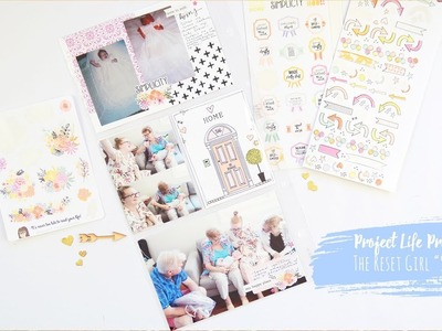 """Project Life Process Video ~ The Reset Girl """"Simplicity"""" Kit + + + INKIE QUILL"""