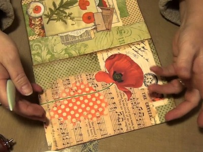 Pt 2- The Making of a File Folder Journal
