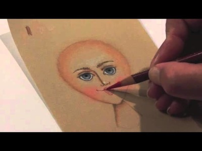 Quilting Tutorial: Drawing Faces on Fabric with Lauren Vlcek - Lesson 3
