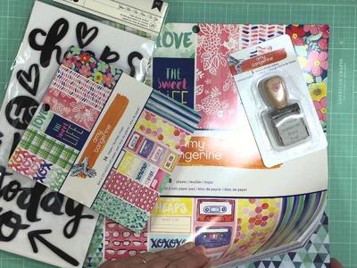 Scrapbook Haul: Simon Says Stamp