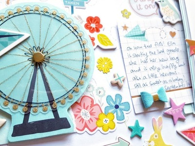 Scrapbooking Process**TURN THE PAGE Collection** Hip Kit Club Sep 2017