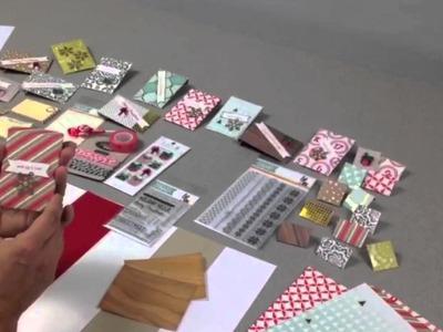 Simon Says Stamp Holiday Card Kit Video Hop