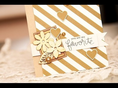 Simon Says Stamp June 2014 Card Kit - You are my favorite