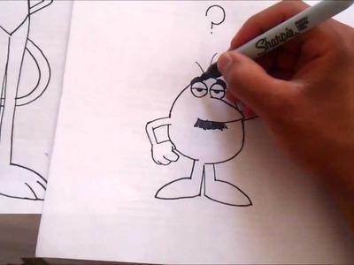 Speed Drawing EL HOMBRE BLANCO DE LA PANTERA ROSA XDB