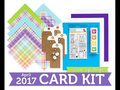 SSS April 2017 Card Kit Unboxing! Wild and Colorful