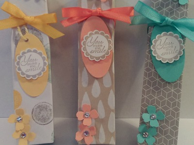 Stampin' Up! - Tall, Slim Gift or Treat Box