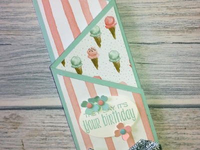 Stampin' Up!  Zigzag card
