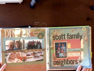 Tribute Scrapbook: 1. Setting Up Your Album