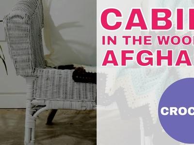 Cabin in the Woods Afghan: Free Chevron Crochet Pattern