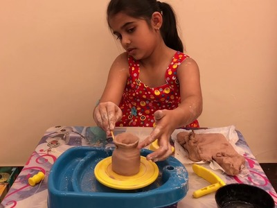 Createlier Poterie Set - Learn how to make a pot; Pottery; Educational toy