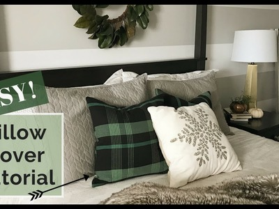 DIY HEARTH AND HAND PILLOWS   How to sew pillows   Magnolia