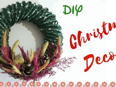 DIY: How to make Christmas wreath decor | Christmas decor