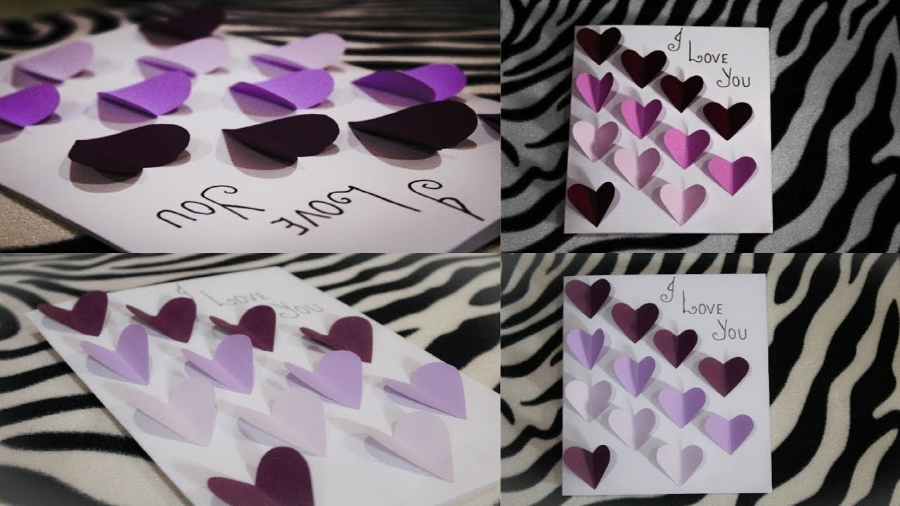 Diy i love you card how to make greeting cards for him cute diy i love you card how to make greeting cards for him cute easy pop up greeting cards kristyandbryce Image collections