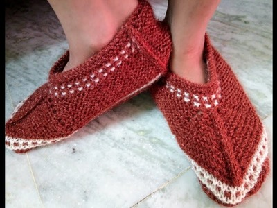 Easy Knitting Socks for Women   Hindi