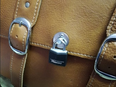 Factory Indian Scout Saddle Bag Locks: How To