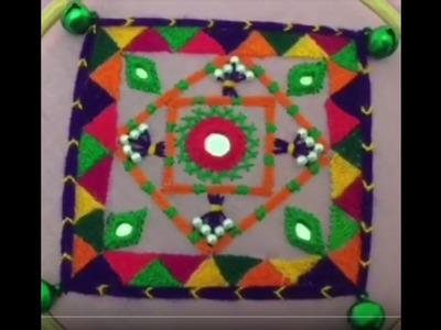 Hand Embroidery easy stitch how to make Balochi designs