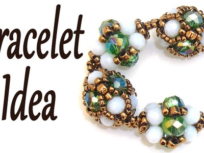 How can you use the shiny component of the last tutorial to make a bracelet - Beaded bracelet