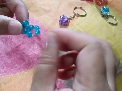 How to Bead Keychains to put on Big Pouch Part 2