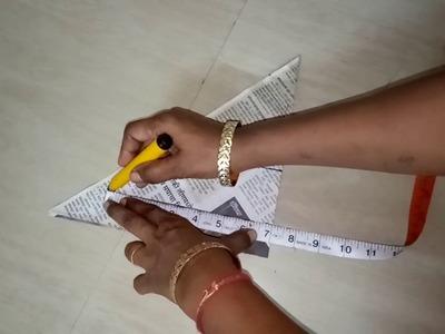 How to do fasion designer mega sleeve cutting Cap Sleeve - Mega Sleeve - Cutting