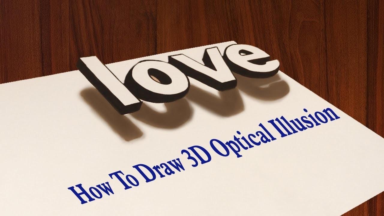 Draw 3D Love Graffiti Letters   Book Marketing