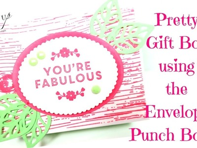 How to make a Gift Box using the Envelope Punch Board