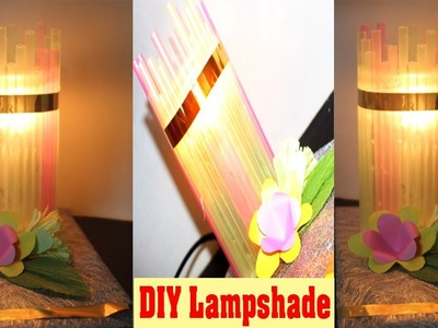 How To Make A Lampshade At Home | DIY Straw Crafts | Drinking Straw Ideas | DIY Christmas Ornaments