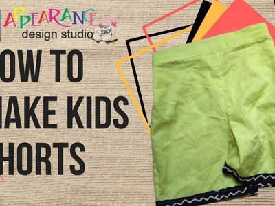 How to make a pair of shorts or pants [easy]